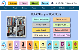 HDPOS smart For Book Store Software