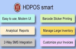 HDPOS Smart Accounts & Billing Software