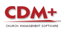 Logo-CDM+ Church Management Software